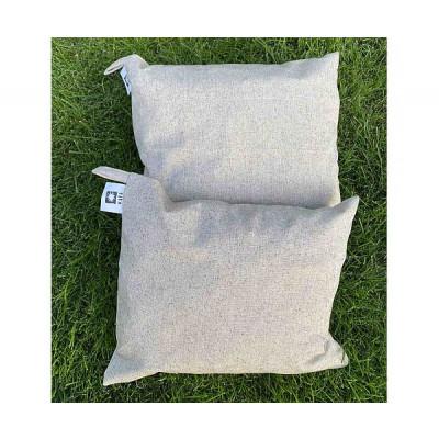 Травяная подушка лен натуральный с наполнителем полынь